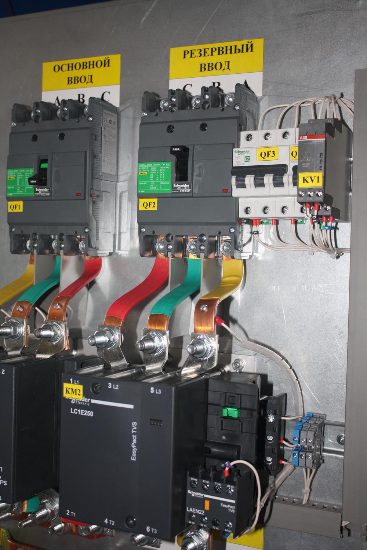 Шкафы АВР с комплектацией Shneider Electric